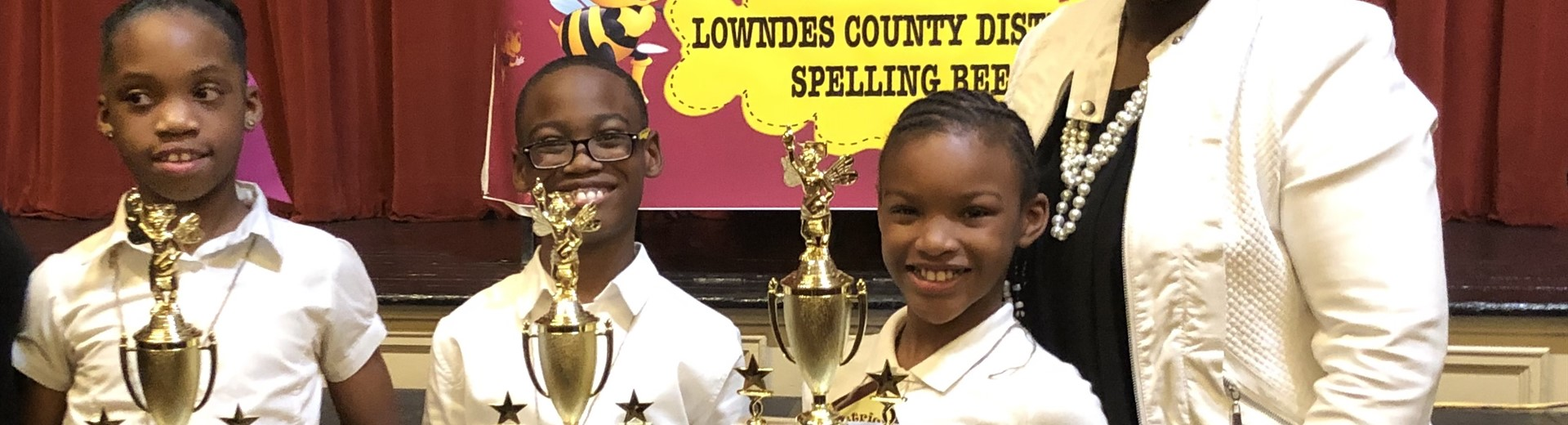 JSE Spelling Bee Winners