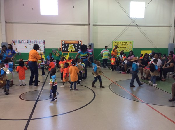 Central Head Start Pep Rally